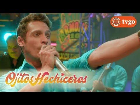 ¡Edgar Y Estrella Presentan Un Nuevo éxito En El Palacio! - Ojitos Hechiceros 23/04/2018