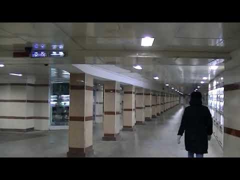 Подземный переход, ТРИ вокзала, Комсомольская площадь