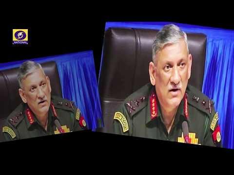 Aaj Savere - An interview with General Bipin Rawat, Chief of Army Staff, UYSM,AVSM,YSM,SM,VSM