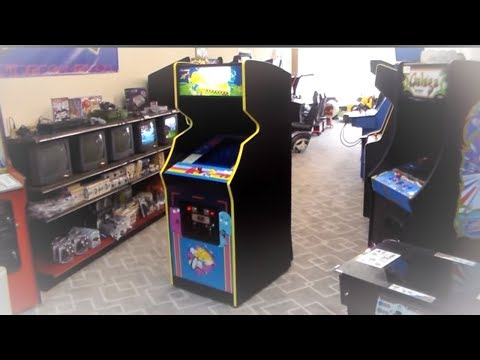 Jr. Pac-Man Conversion Arcade Game - Bally Midway Kit From 1983!