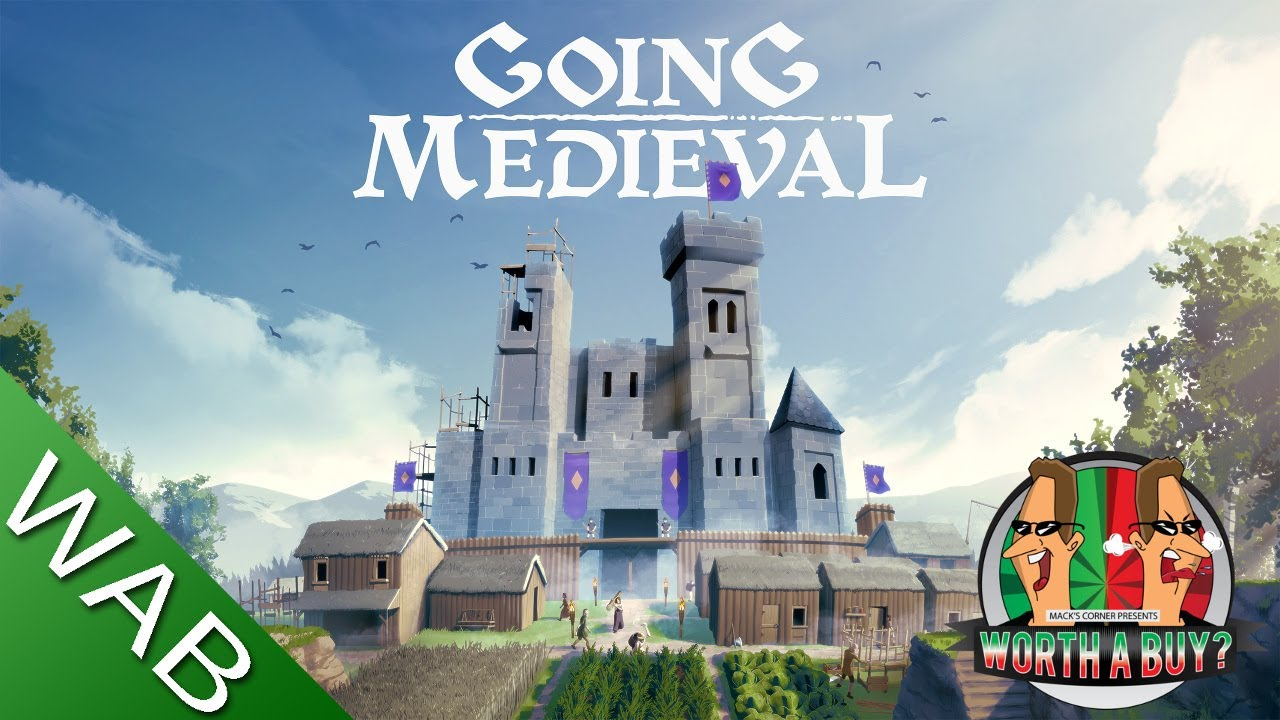Going Medieval Review - Another Gem (Video Game Video Review)