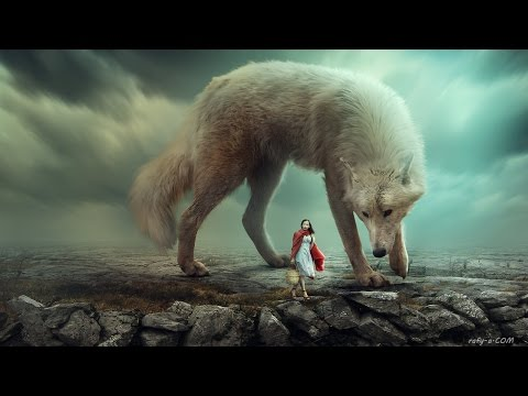 Big Wolf - Photoshop Manipulation Tutorial