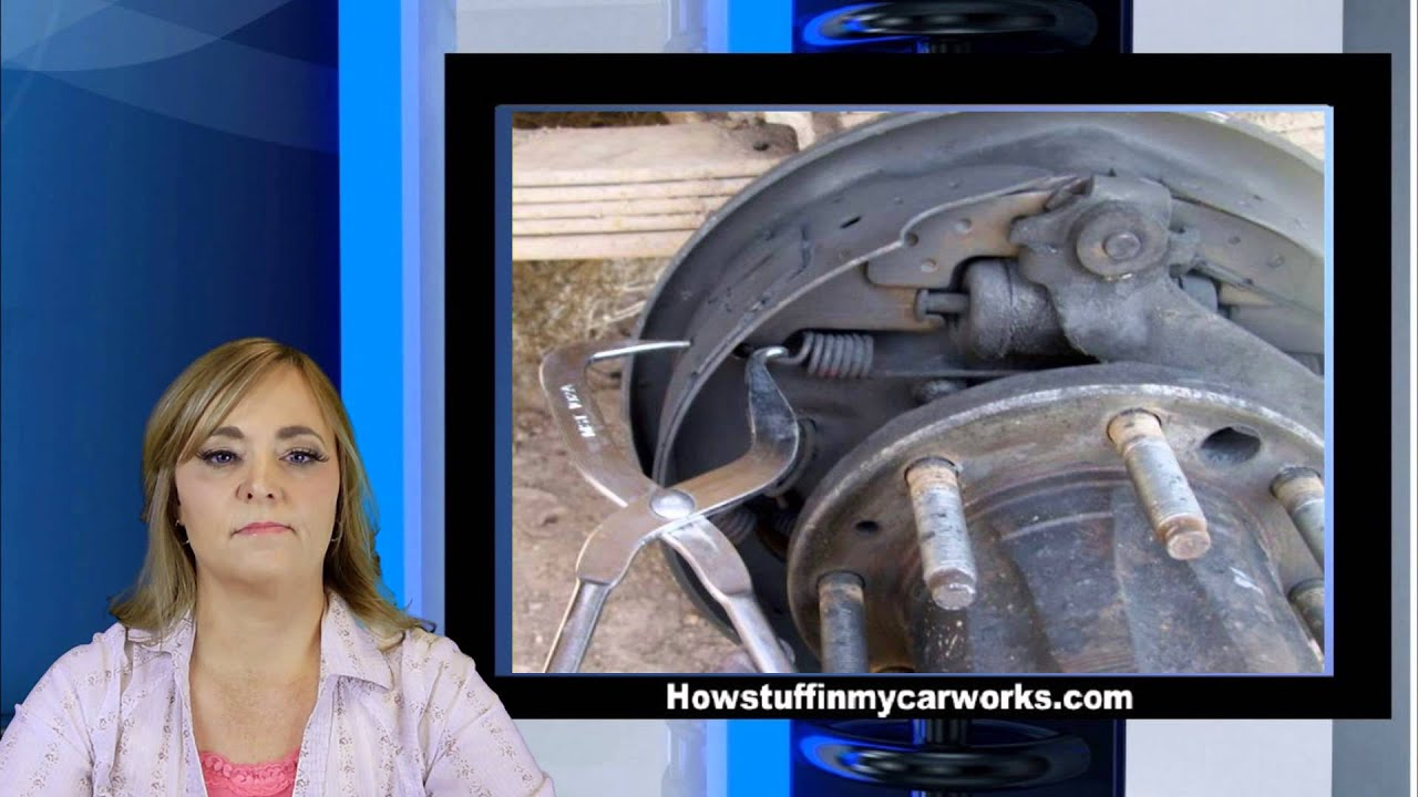 Ford F 250 Rear Brake Shoes Replacement Tutorial by Howstuffinmycarworks  YouTube
