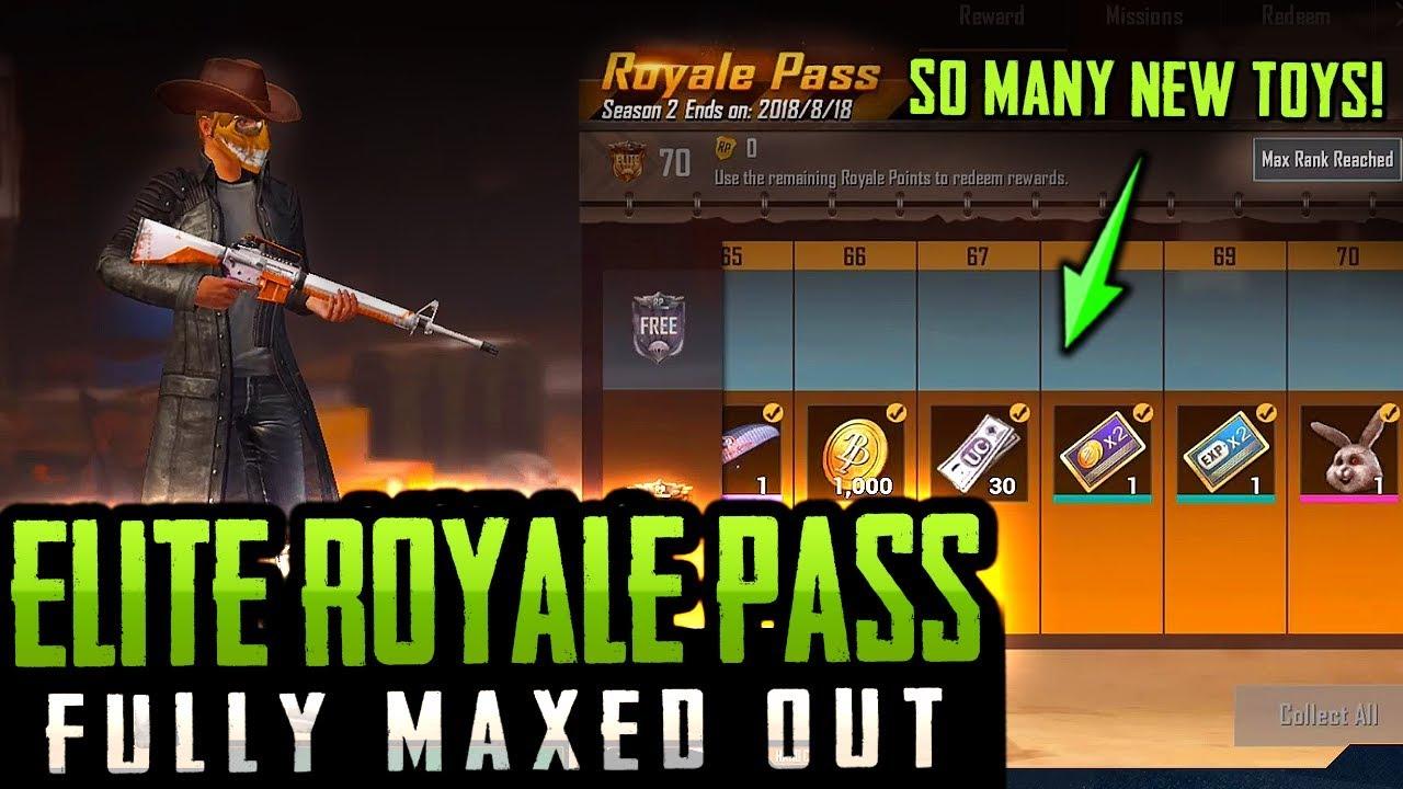 ELITE ROYALE PASS Unlocked & Fully MAXED! PUBG Mobile