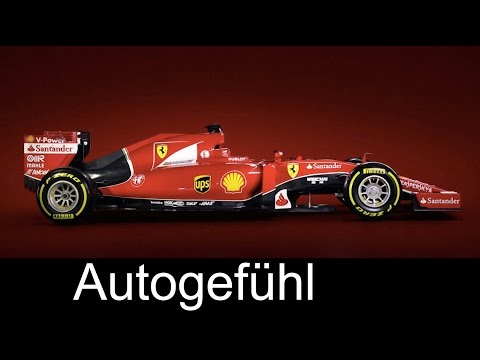 New Ferrari F1 car SF15-T reveal 2015 with Sebastian Vettel & Kimi Räikkönen - Autogefühl
