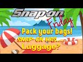 Snap On Friday ! Pack Your Bags Boys, Snap On Has New Tools And Luggage !