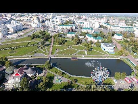Аэросъемка города Саранск