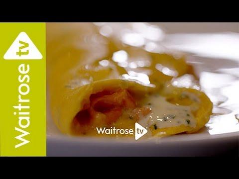 Heston Blumenthal's Smoked Salmon Omelette | Waitrose