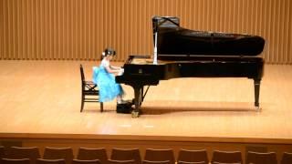 ルイルイ7歳 ~コンクール受賞者コンサート~イベール 石清水を売る女