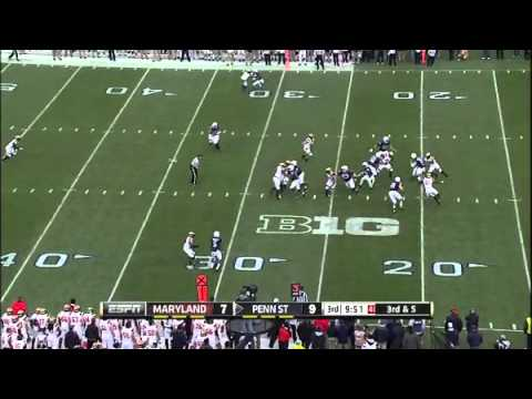2014 Maryland at Penn State - Missed Block