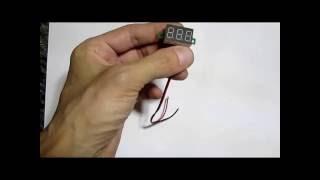 Доработка цифрового вольтметра из китая