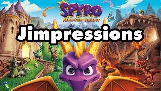 Spyro Reignited Trilogy - Relight My Fire (Jimpressions) (Video Game Video Review)