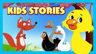 KIDS STORIES    Chicken Little, The Ugly Duckling and The Goose That Laid Golden Eggs