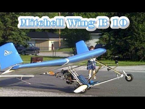 ultralight aircraft kit mitchell wing b 10 jet powered ultralight rh youtube com