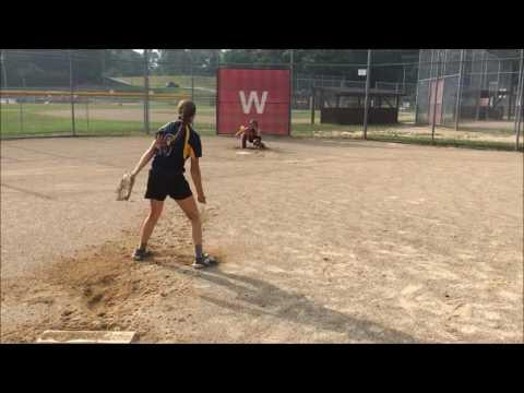 Skylar Crisenbery Coloma High School Pitcher Class of 2018