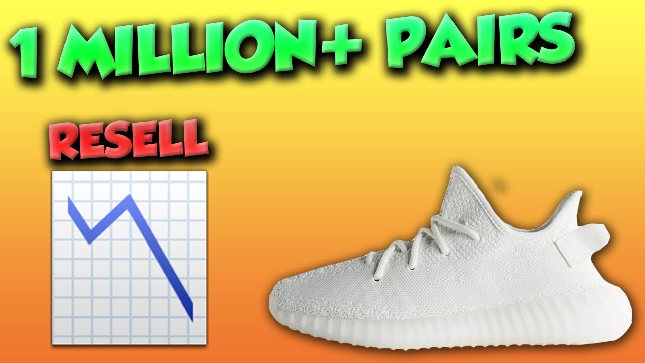36f8f9058c9987 ONE MILLION PAIRS! ADIDAS YEEZY 350 V2 CREAM WHITE RESTOCK!