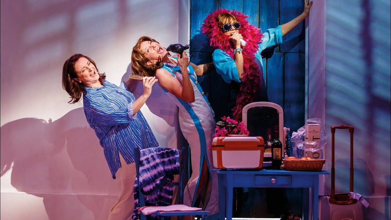 Mamma Mia Auf Tour Szenen Aus Dem Musical Youtube