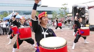 2015/05/04 『 年中口説 』 by 琉球國祭り太鼓 柳川支部 in ザ・ゴール...