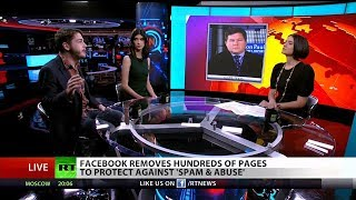 Facebook Shuts Down RT Reporter's Page