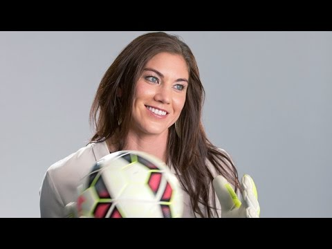 """Hope Solo's Story - """"One Nation. One Team. 23 Stories."""""""