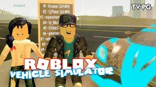 DRIVING THE MOST WANTED SPEEDSTER | Roblox Vehicle Simulator