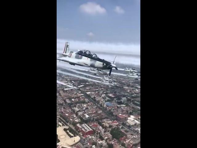 Aviones de la fuerza aérea mexicana
