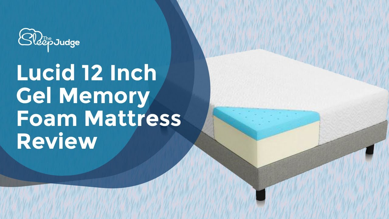 lucid 12 inch gel memory foam mattress Lucid 12 Inch Gel Memory Foam Mattress Review   YouTube lucid 12 inch gel memory foam mattress