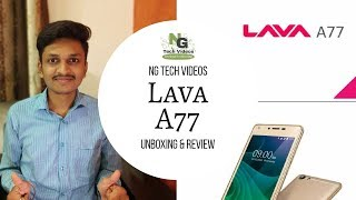 Lava A77 Unboxing Quick Review Price