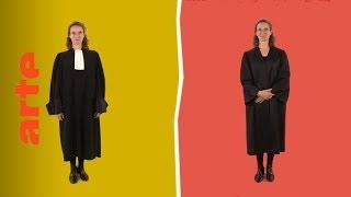 Die Anwaltsrobe: Unterschiede und Eigenheiten | Karambolage | ARTE