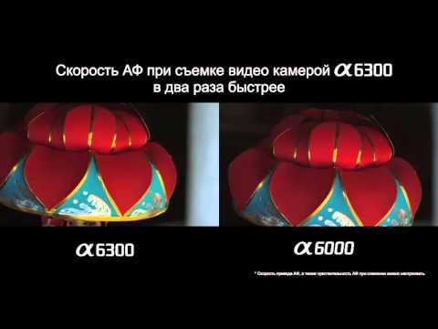 Сравнение скорости АФ в камерах Sony 6300 и 6000