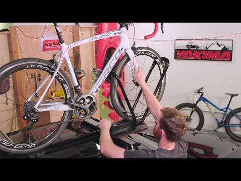 Yakima [] HighRoad Upright Bike Mount [] Product Tour & Installation