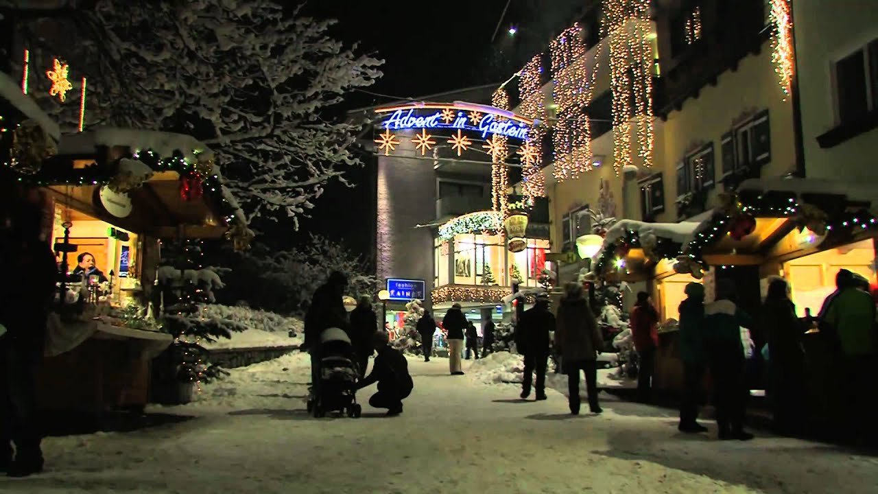 Weihnachtsmarkt W.Weihnachtsmarkt Bad Hofgastein Advent In Gastein Salzburg österreich