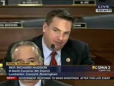 Rep. Hudson Questions USDA Secretary Tom Vilsack