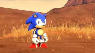 sonic prologue original animation tests