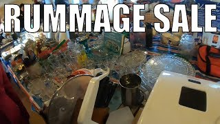 Rummage Sale Treasure Hunt - A New Place To Check Out