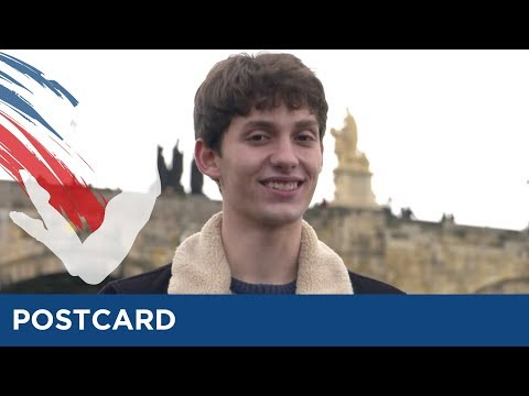 Postcard Of Michal Vach From Czech Republic - Eurovision Young Dancers 2017