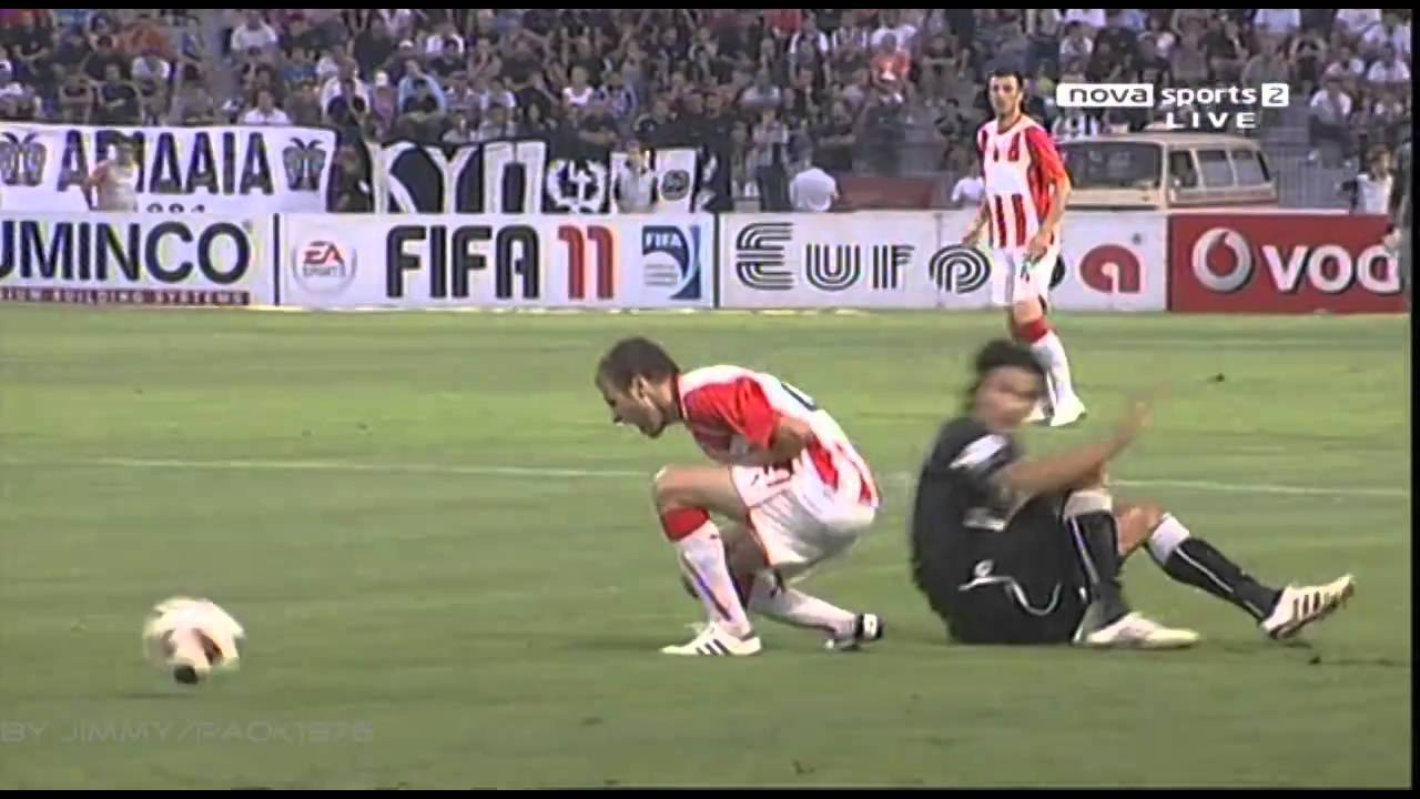 Paok Olympiakos: PAOK OLYMPIAKOS VOLOU 1-1(OLES OI FASEIS)