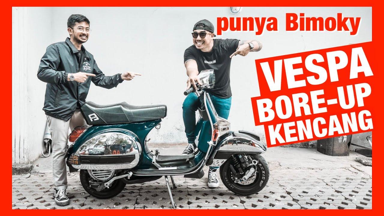 VESPA KENCANG PUNYA BIMOKY PENGISI IKLAN - Vespa Strada 2 Tak