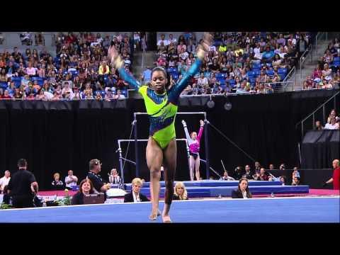 Gabby Douglas - Floor - 2012 Visa Championships - Sr. Women - Day 2