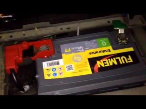 Citroen Xsara Picasso Remplacer La Batterie Electrique