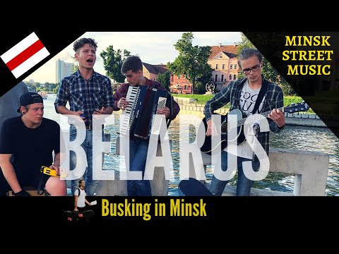 Minsk Street Music Festival - Busking in Belarus ft. The Mur