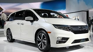 2018 Honda Odyssey - 2017 Detroit Auto Show