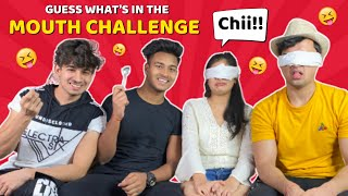 Guess what's In The Mouth Challenge 🤔 | Ft. Sohak | NITESH PASWAN