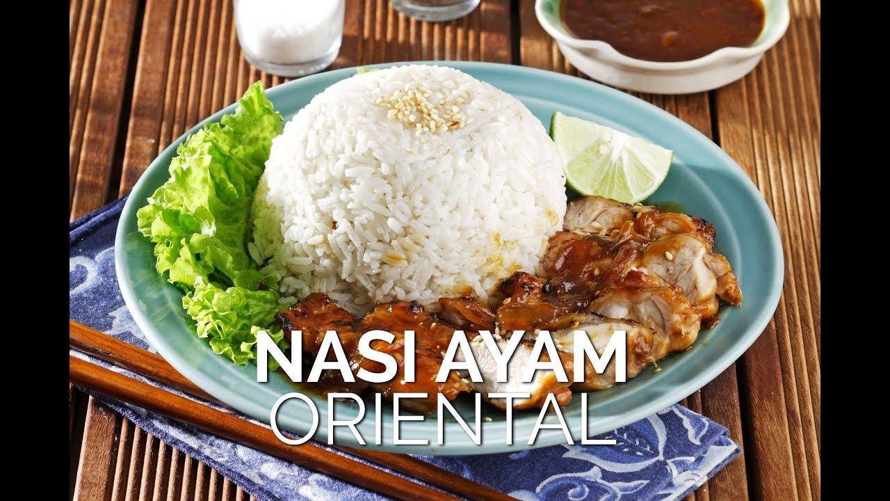 Resep Dan Cara Membuat Nasi Ayam Oriental Mudah Dan Dijamin