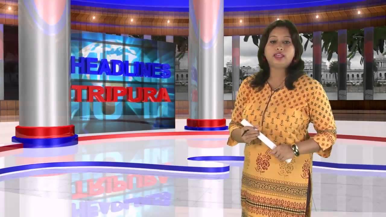 Tripura breaking news live video