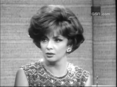 What's My Line? - Gina Lollobrigida; PANEL: Dick Cavett, Sue Oakland (Jan 1, 1967)