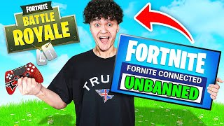 FAZE JARVIS IS UNBANNED ON FORTNITE... **PRANK**