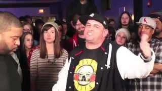 The Saurus vs. Syd Vicious - No Coast Rap Battle