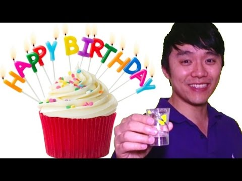 "Talk in Cantonese - How to say ""HAPPY BIRTHDAY!"" in Chinese? 生日快樂!"