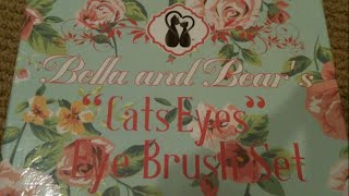 "Bella & Bear ""The Cats Eye"" Eyeshadow Brushes + Special Coupon Code!"